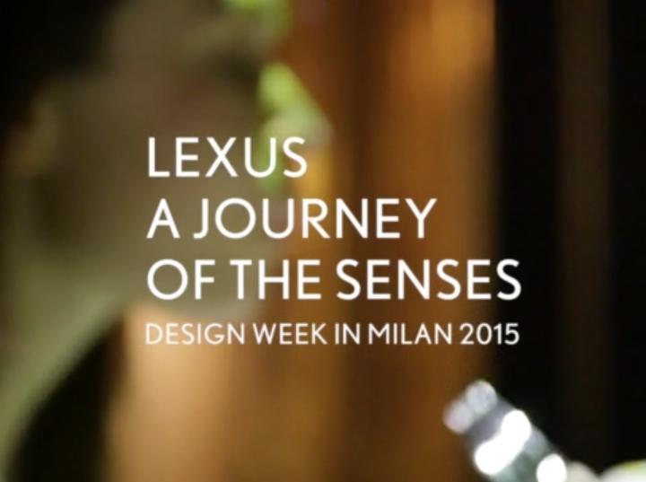鈴木剛治 – Lexus – A Journey of the Sensesが受賞  (イタリア)